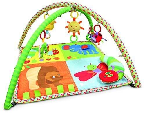 日本育児 ベビージム はらぺこあおむし アクティビティプレイジム 新生児から対象 成長過程に合わせて使用可能,0歳,おもちゃ,