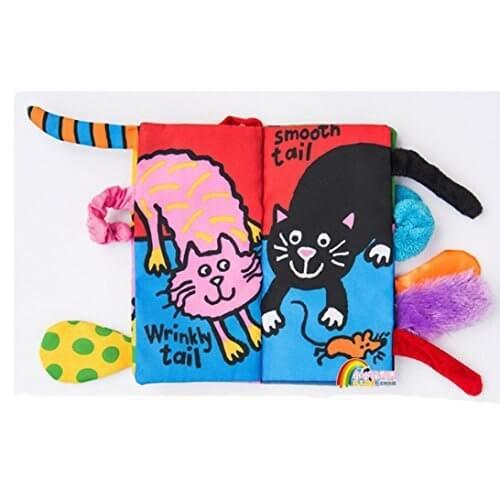 Tonsee 赤ちゃん ベビー 布えほん 可愛い 知育玩具 布のおもちゃ アクティビティブック,0歳,おもちゃ,
