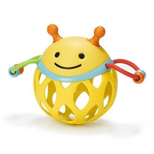 SKIP HOP ラトル ガラガラ ロールアラウンド・ラトル/ビー TYSH303102,赤ちゃん,おもちゃ,