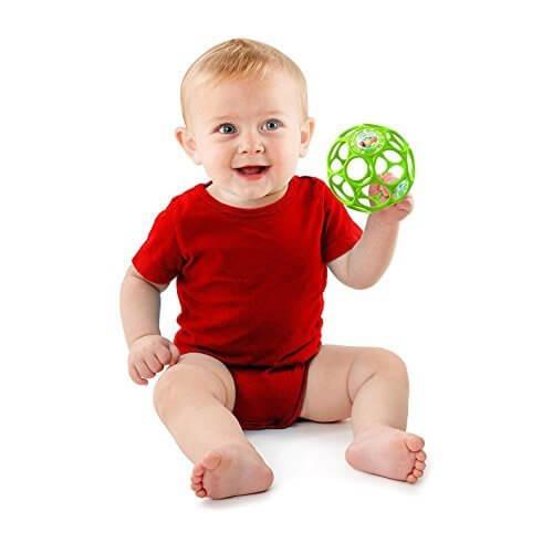 O'ball オーボール ラトル ライム (11483) by Kids II,赤ちゃん,おもちゃ,