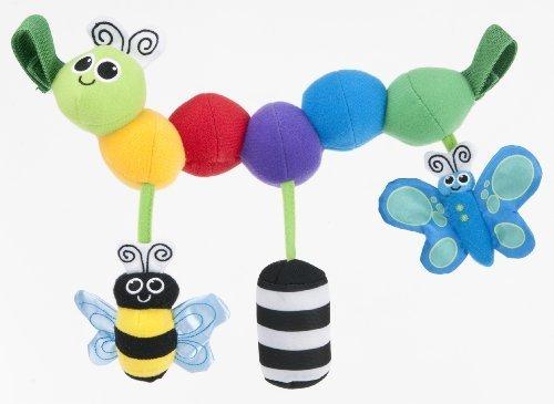 Sassy ベビーカー用おもちゃ キャタピラー・キャリー TYBW80071,赤ちゃん,おもちゃ,