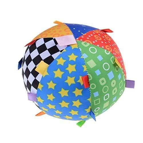 Heyuni.玩具 赤ちゃん ボール カラー 0-1歳 ベルボール おもちゃ 布ボール 幼児 プレゼント おしゃれ 知育玩具 可愛い,赤ちゃん,おもちゃ,