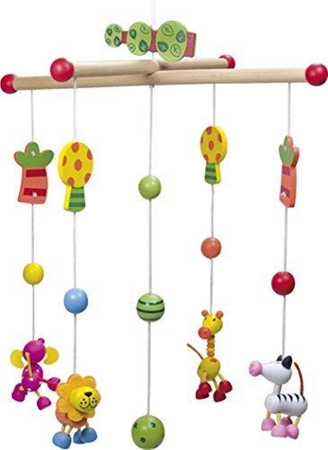 ユリス 木製モビール Safari,赤ちゃん,おもちゃ,