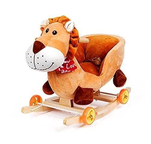 Claroドリーチェアロッキング赤ちゃんのロッキングチェア木馬(海外直送品) (Lion),赤ちゃん,おもちゃ,