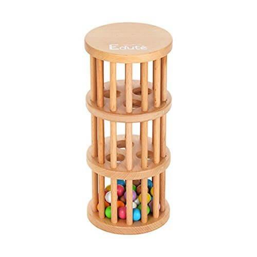 [エデュテ ベビー&キッズ] Edute baby&kids ラトルTOWER ガラガラ ベビー 対象月齢10ヶ月~ ラトルタワー,赤ちゃん,おもちゃ,
