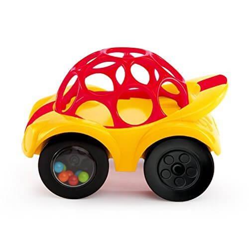 O'ball オーボール ラトル&ロール レッドカー (81559) by Kids II,赤ちゃん,おもちゃ,