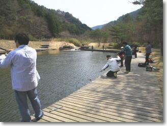 なごみの湖の第2ライトエリア,京都,釣り,スポット
