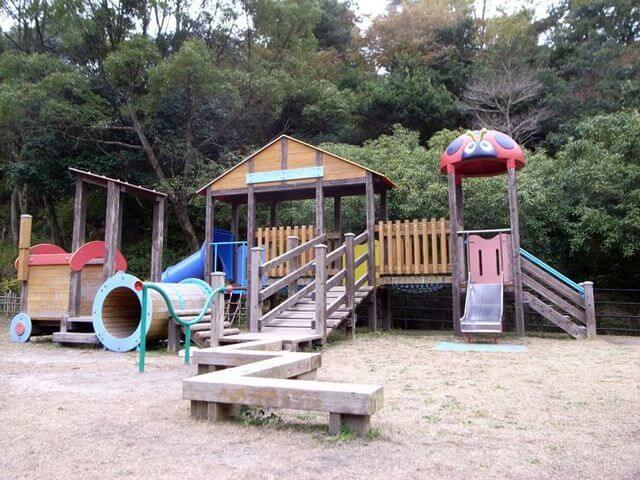四天王寺県民の森の森の中の木のアスレチック広場,福岡,アスレチック,公園