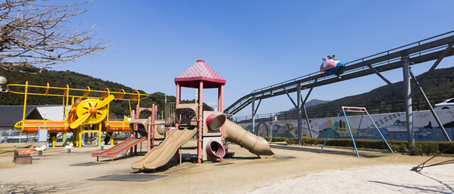 道の駅歓遊舎ひこさんのこどもわくわくパーク,福岡,アスレチック,公園