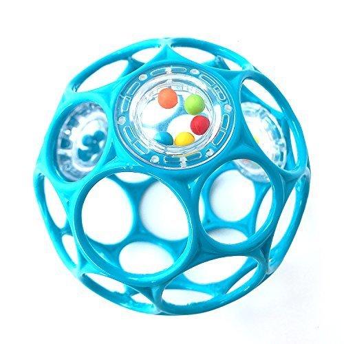 オーボール ラトル ブルー,はじめて,おもちゃ,