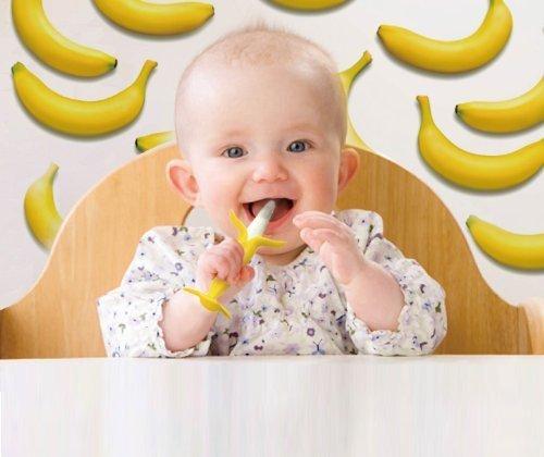 KJC エジソン 歯がため カミカミBabyバナナ (3ヶ月から対象) 思わず写真を撮りたくなっちゃう歯がため,はじめて,おもちゃ,