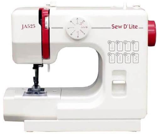 JANOME コンパクト電動ミシン 【sew D`Lite】 JA525,子供服,リメイク,