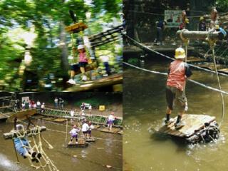 運動の森自然公園 成田エアポートコースのアスレチック「どうぶつたちのオアシス」,アスレチック,関東,おすすめ