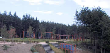 井ノ奥公園,アスレチック,京都,