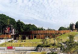 鴻ノ巣山運動公園のバンクーバー砦,アスレチック,京都,