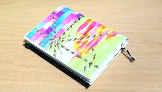 マスキングテープ 手帳 デコレーション 手作り 作り方,手作り,手帳,