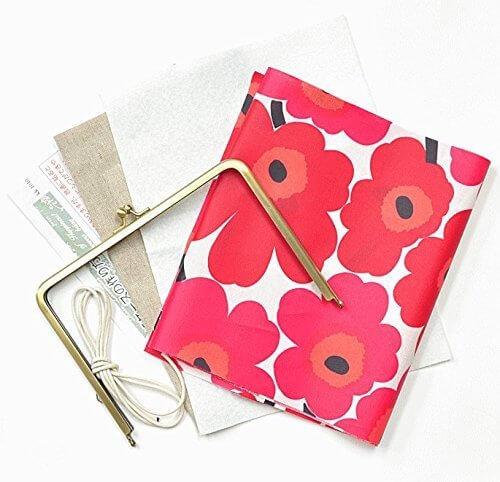 marimekko 手帳ケースキット 手作りキット マリメッコ (レッドキット),手作り,手帳,