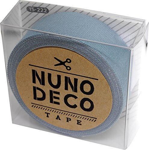 KAWAGUCHI(カワグチ) NUNO DECO TAPE ヌノデコテープ 1.5cm幅 1.2m巻 ふゆのそら 15-222,幼稚園,デコ,ヌノデコ