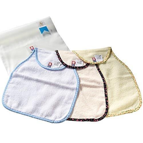 ブルーム 今治産 Fit-Use(フィットユース) 汗取りインナー 綿100% 日本製 3枚セット (花柄水玉 3枚セット) 今治fit-use汗取り_水玉花柄3,汗取り,パッド,赤ちゃん