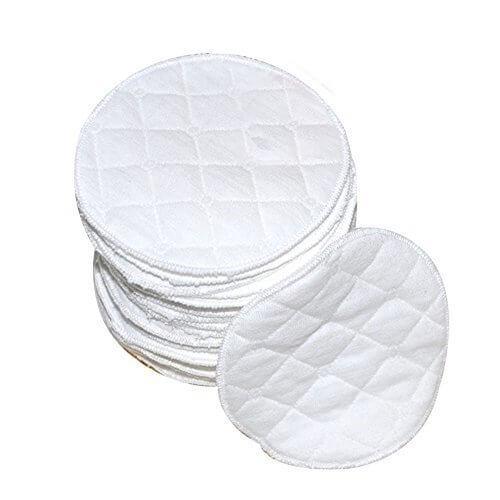 TELLME 6 pcs(3 ペア ) オーガニックバンブー 母乳パッド セット 6 pcs(3 ペア ) ふわふわオーガニックコットン100% 母乳パッド,出産準備品,