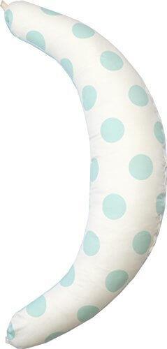 サンデシカ 妊婦さんのための 洗える抱き枕 ミントドット 【日本製】4251-8888-54,出産準備品,