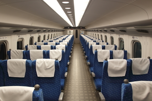 東海道新幹線 車内,ファミリー,新幹線,