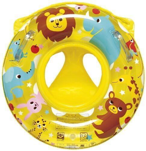 イガラシ どうぶつひろば足入れ浮き輪 55×55㎝,赤ちゃん,浮き輪,