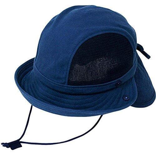 (ベル・モード)Les belles modes 子ども用UVカット帽子 S ネイビー,UVカット,帽子,