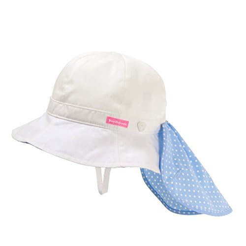 ミキハウス ホットビスケッツ (MIKIHOUSE HOT BISCUITS) 帽子 72-9103-781 M(3-5歳)cm 白,UVカット,帽子,