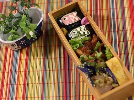 鯉のぼり弁当,こどもの日,レシピ,