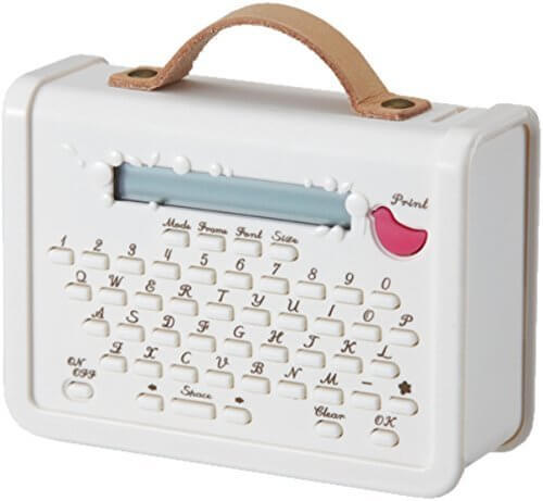 キングジム マスキングテーププリンター こはる MP10 ホワイト,保育園,服,名前