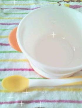 離乳食・スタートは簡単♪炊飯器10倍粥,離乳食,10倍粥,