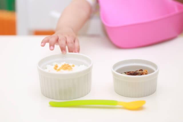 離乳食,母乳,粉ミルク,