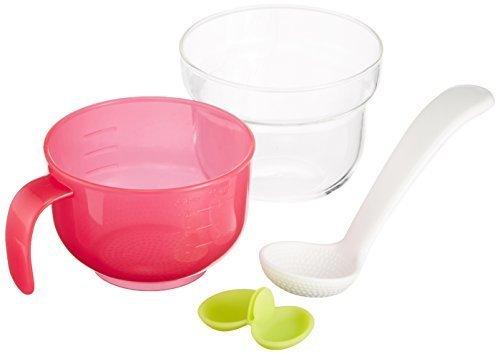 リッチェル Richell 炊飯器用おかゆクッカーE 耐熱ガラス製 取り出し具付,離乳食,炊飯器,おかゆ