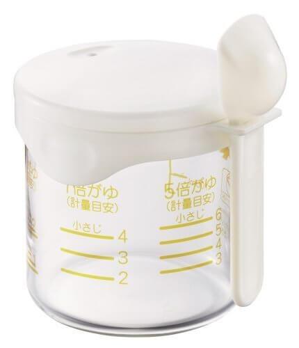 パール金属 便利小物 米かゆカップ C-3816,離乳食,炊飯器,おかゆ