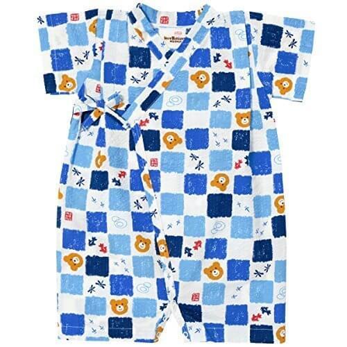 ミキハウス ホットビスケッツ (MIKIHOUSE HOT BISCUITS) 甚平オール 72-7506-971 S(1-3歳)cm 白,子供用,甚平,