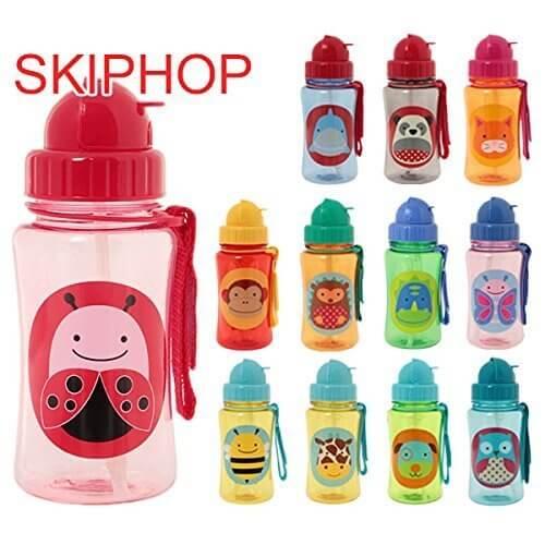 スキップホップ / SKIP HOP Zoo Straw Bottle(:、種類:Ladybug) [並行輸入品],子ども,水筒,おすすめ