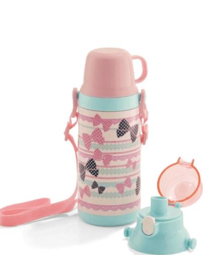 ベルメゾン 直飲みとコップの2wayの水筒,子ども,水筒,おすすめ