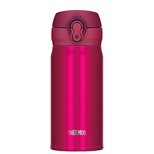 サーモス 水筒 真空断熱ケータイマグ 【ワンタッチオープンタイプ】 0.35L ストロベリーレッド JNL-352 SBR,子ども,水筒,おすすめ
