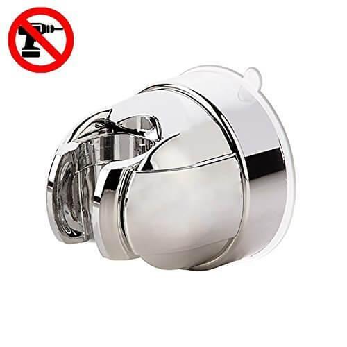 FIBOUND 強力吸盤シャワーホルダー,角度調整式シャワーフック,シャワーフック,