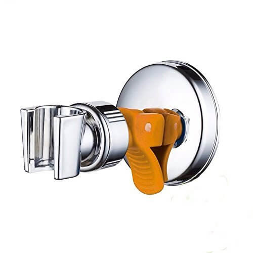 Funwill シャワーホルダー シャワーフック 吸盤式 上下調節 穴開け不要! 取り付け簡単 吸盤シャワーフック,シャワーフック,