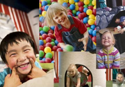 IKEAの託児施設「スモーランド」イメージ画像,関東,室内,遊び場