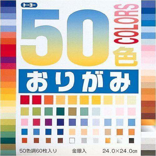 トーヨー 50色おりがみ(24.0),手作り,フォトフレーム,