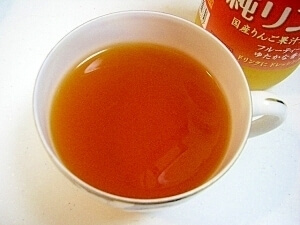 スッキリ味のりんご紅茶♪,りんご酢,おいしい,飲み方