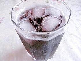 簡単シュワシュワ☆りんご酢入り♪グレープソーダ,りんご酢,おいしい,飲み方