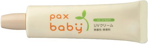 パックスベビー UVクリーム (日焼け止め) 30g SPF17/PA+,子供用,日焼け止め,