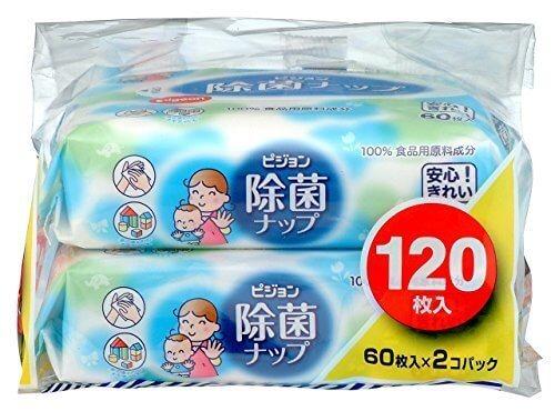 ピジョン 除菌ナップ 60枚入×2個パック,除菌,グッズ,おすすめ