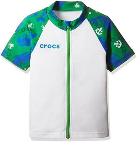 (クロックス)CROCS(クロックス) CROCS男児半袖ラッシュガード127206 127206 GN グリーン 100,ラッシュガード,キッズ,