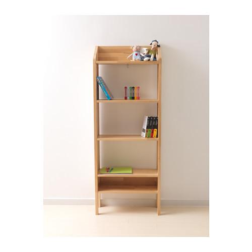 IKEA シェルフユニット KUNSKAP,絵本,収納,