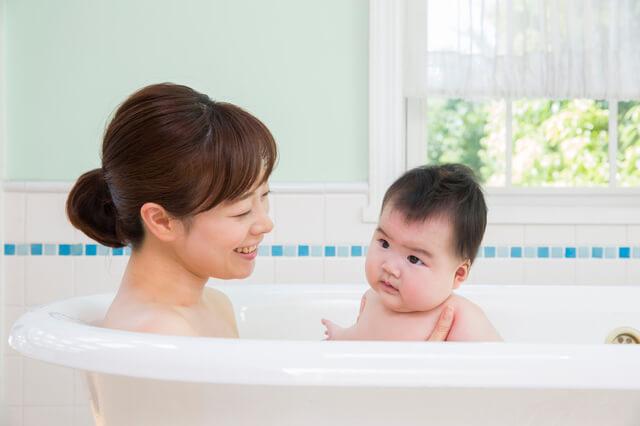 赤ちゃんお風呂,急性中耳炎,子供,